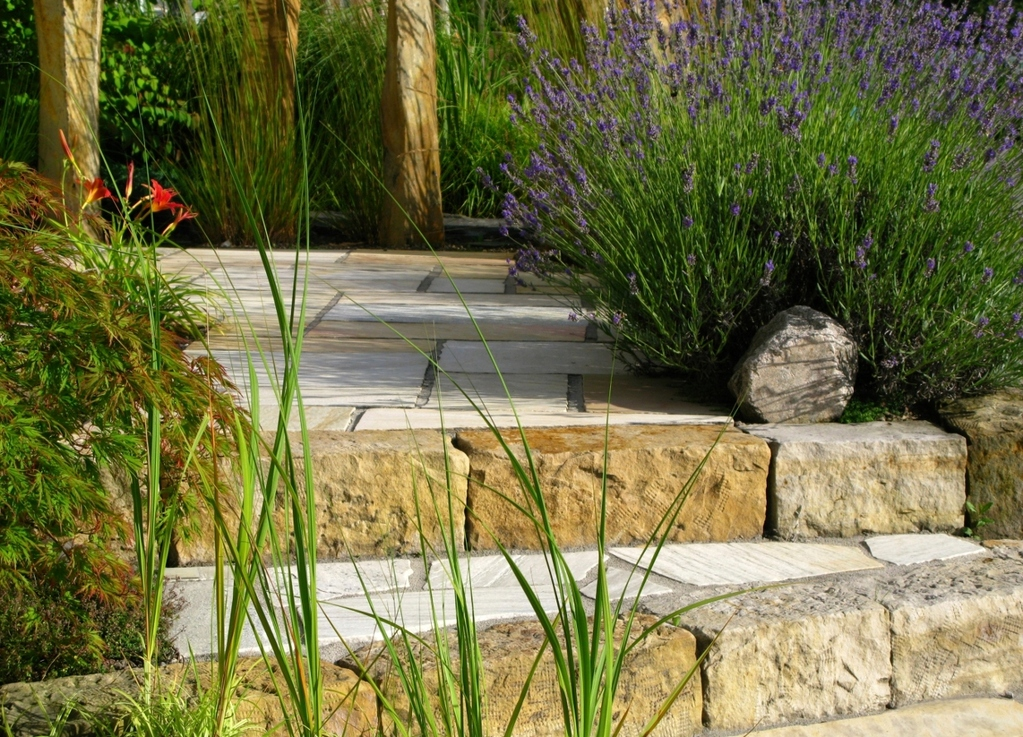 Où placer un escalier de jardin?