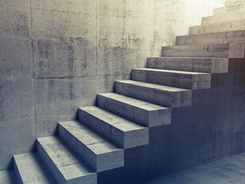 Escalier en b ton cir ooreka - Escalier en beton cire ...