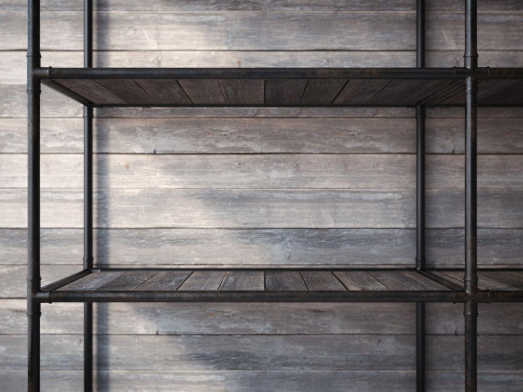 emejing etagere decorative metal contemporary. Black Bedroom Furniture Sets. Home Design Ideas
