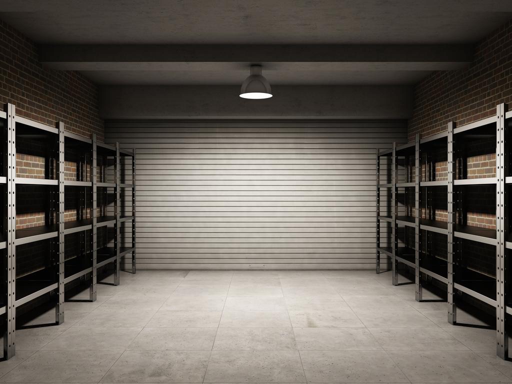 Carrelage de garage
