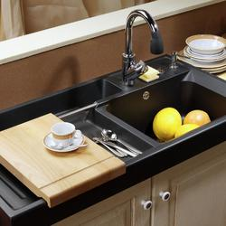 comment choisir un evier en resine. Black Bedroom Furniture Sets. Home Design Ideas