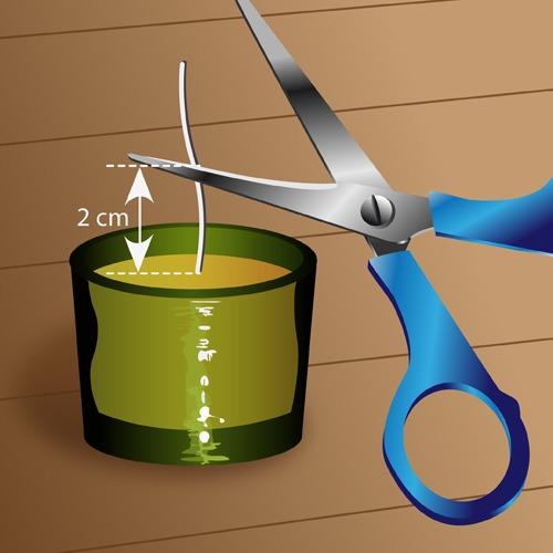 fabriquer des bougies d coration. Black Bedroom Furniture Sets. Home Design Ideas