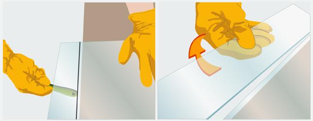 Couper du verre fen tre - Comment couper du verre feuillete ...