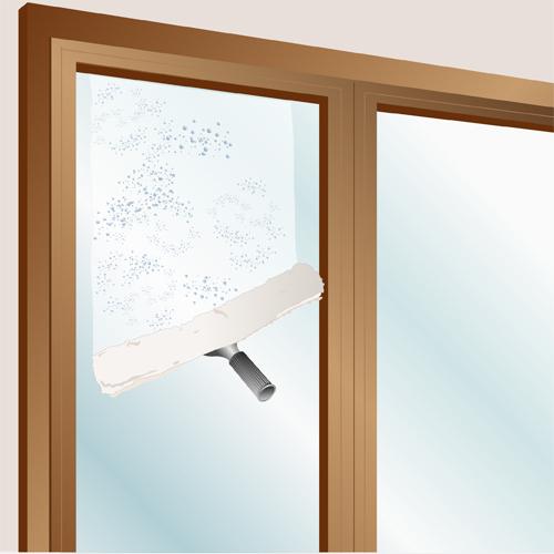 Nettoyer une vitre