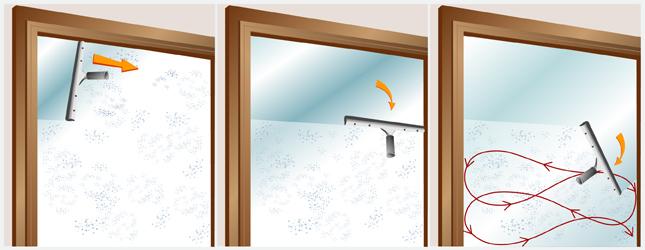 nettoyer une vitre fen tre