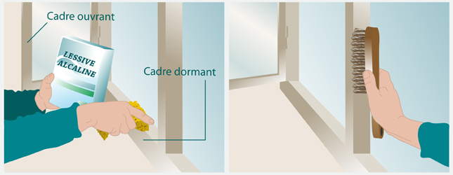 Poser des joints d isolation aux fen tres fen tre for Pose de barreaux aux fenetres