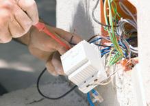 Installation fils électriques