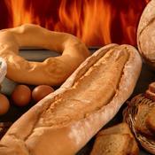 Exemple de four à pain extérieur