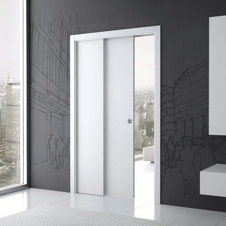Prix porte coulissante tous les prix de portes coulissantes - Porte galandage eclisse ...