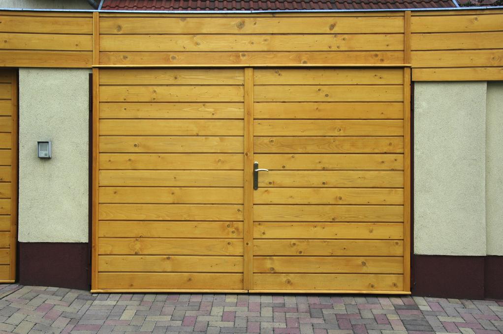 Garage en bois toit plat ooreka for Construire garage en bois