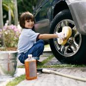 Produit de nettoyage pour voiture