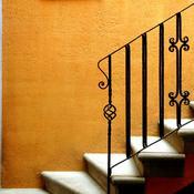 poser une rambarde d escalier en fer forg. Black Bedroom Furniture Sets. Home Design Ideas