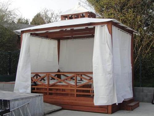 Abri spa infos pour bien choisir votre abri de spa - Toit retractable pour spa ...