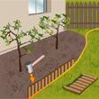Planter une bordure de gazon