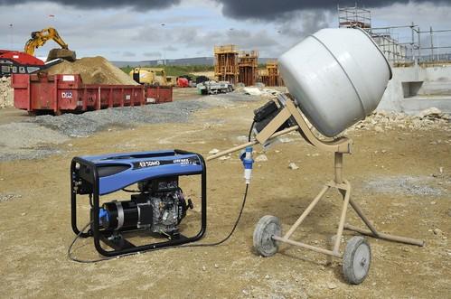 Groupe électrogène chantier