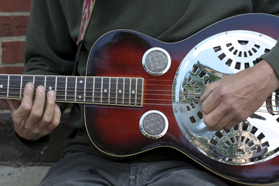 Guitare à résonateur