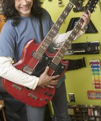 Guitare double manche