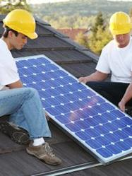 Travaux panneau solaire