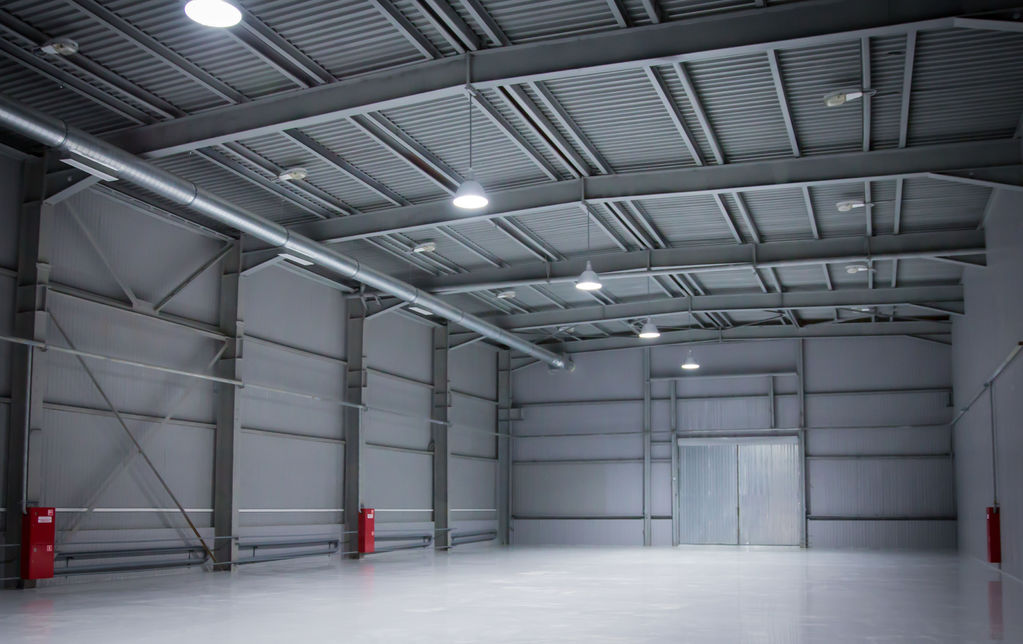 Construire un hangar