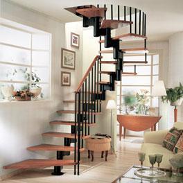 escalier h lico dal usages mod les dimensions prix ooreka. Black Bedroom Furniture Sets. Home Design Ideas