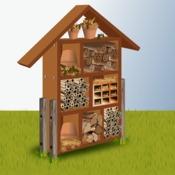 construire un h tel insectes verger. Black Bedroom Furniture Sets. Home Design Ideas