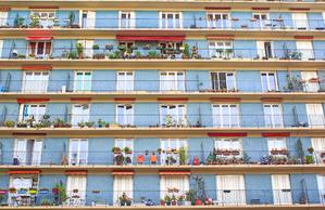 facade construction batiment paris habitation banlieue appartement residence