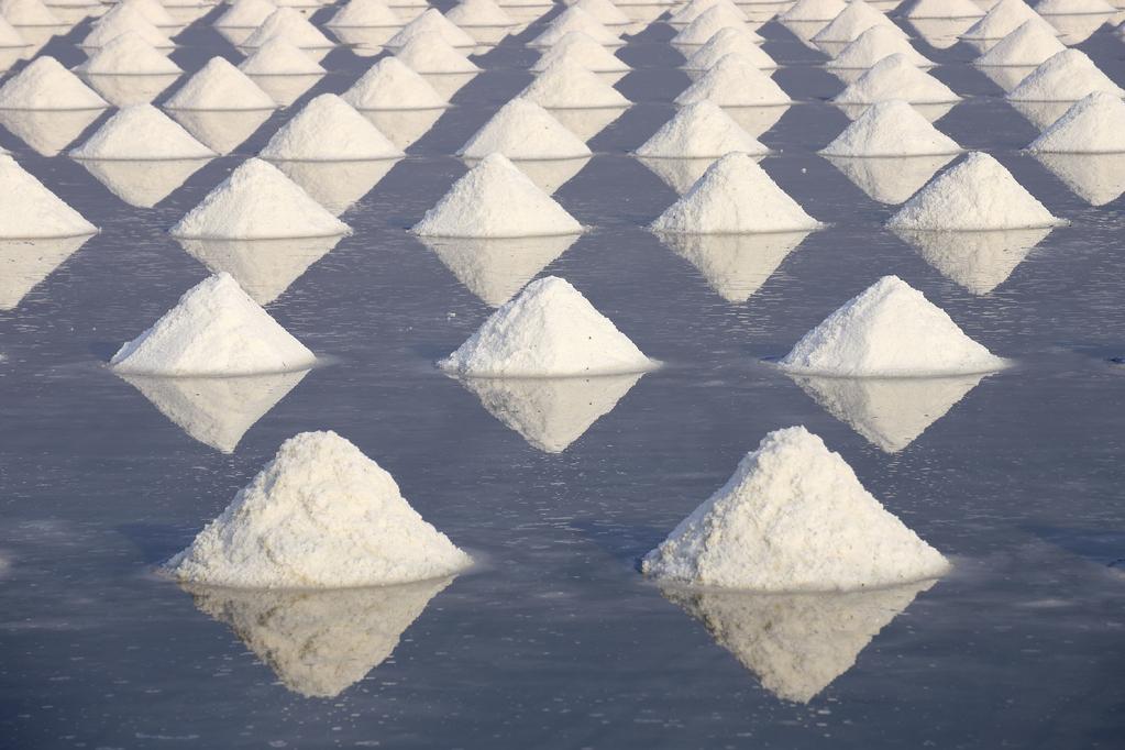7 alternatives au sel blanc