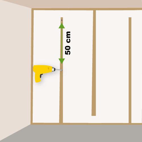 poser des plaques de pl tre avec isolant sur tasseaux. Black Bedroom Furniture Sets. Home Design Ideas