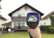Maison fond calcul thermique exterieur
