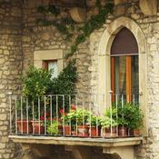Fleurir son balcon expos au nord - Que planter sur son balcon ...