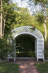 Treillage prix et mod les ooreka - Treillage bois jardin ...