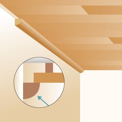 poser du lambris au plafond lambris. Black Bedroom Furniture Sets. Home Design Ideas