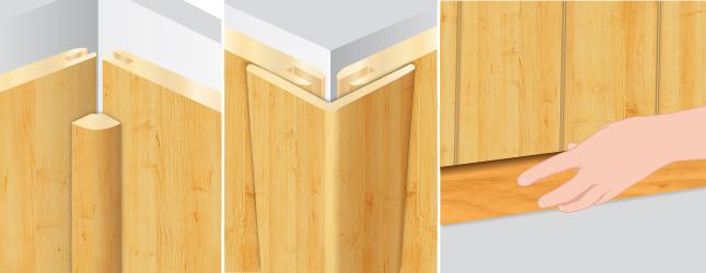 Poser du lambris bois lambris for Bois de finition interieur