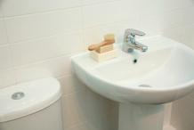 Lave-mains pour WC
