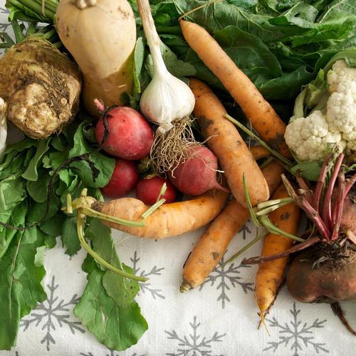 Les locavores : manger des légumes qui voyagent moins que vous !