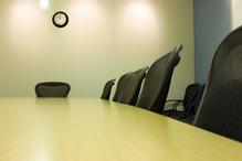Salle de réunion vide