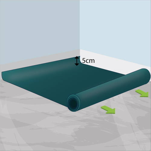 Poser du vinyle au sol lino for Poser du lino en rouleau