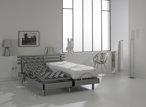 lit 2 personnes matelas separes. Black Bedroom Furniture Sets. Home Design Ideas