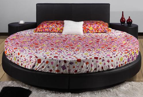 lit rond mod les et prix ooreka. Black Bedroom Furniture Sets. Home Design Ideas
