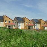 logements disposants de capteurs solaires