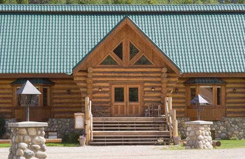 Maison en bois massif empil ooreka for Maison moderne en bois massif