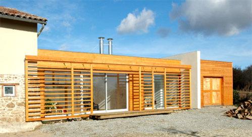 Maison en bois: les nouvelles générations de bois