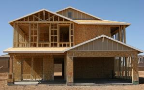 Construire une maison ossature en bois ooreka - Principe maison ossature bois ...