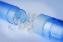 Granules dans un tube