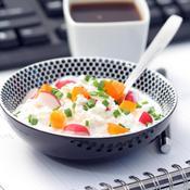 Conseils pour rester en forme en mangeant au bureau