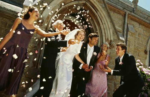 Un mariage à léglise