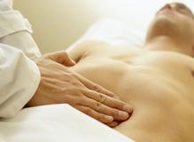 Massage abdomen homme