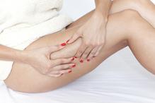 Massage cuisse femme