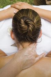 Massage nuque femme