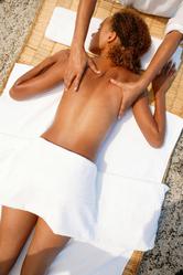 Massage femme dos
